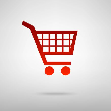 shoppingcart: Shopping cart icons for online purchases- vector