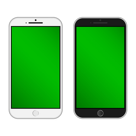 iphon: Smartphone  Isolated. Realistic mobile iphon style mockup vector. an use for printing and website.