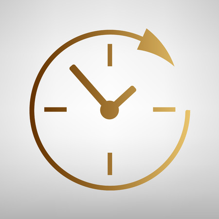 around the clock: Service and support for customers around the clock and 24 hours on transparent background Illustration