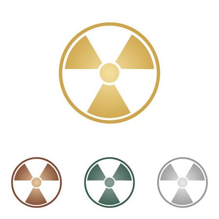 Radiation Round sign.