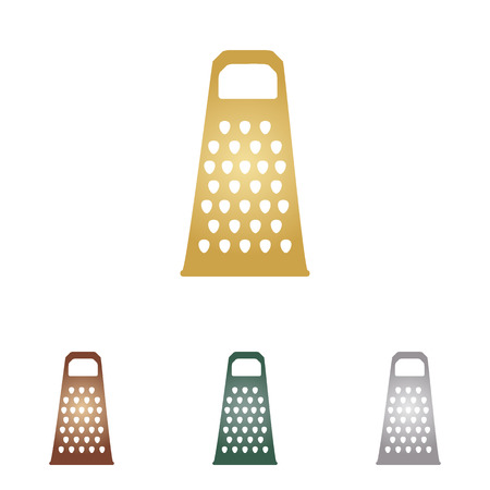 grater: Cheese grater sign.