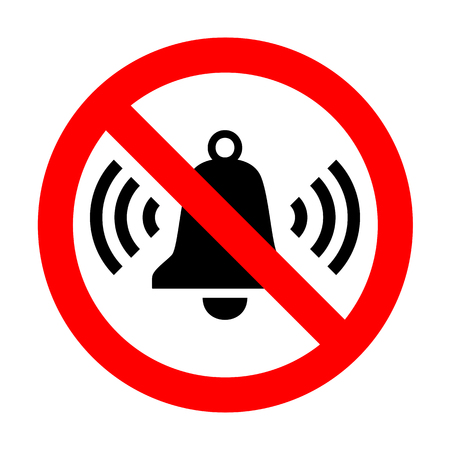 No Ringing bell icon.