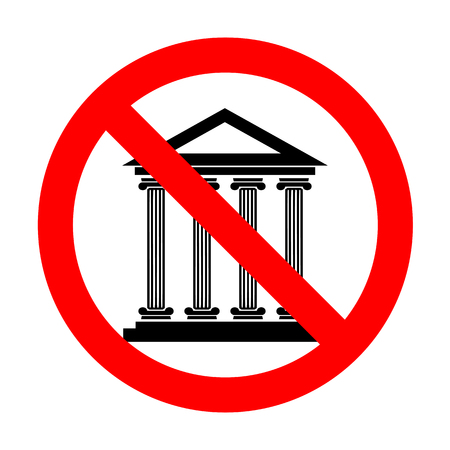 roman pillar: No Historical building illustration. Illustration
