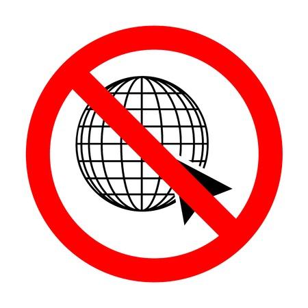 No Earth Globe with cursor.