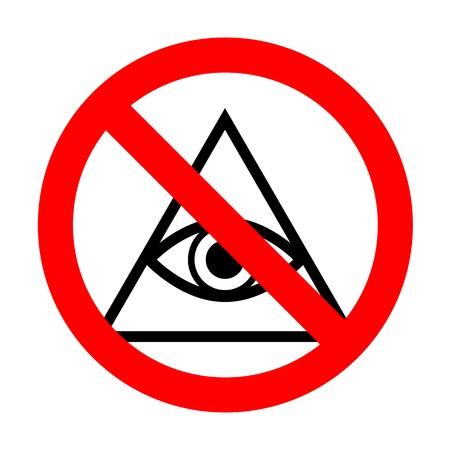 No All seeing eye pyramid symbol. Freemason and spiritual.No.
