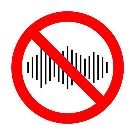 No Sound waves icon.