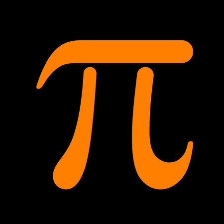 Bowling sign illustration. Orange icon on black background. Old phosphor monitor. CRT. Imagens - 73047446