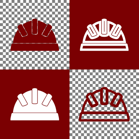 scalable: Baby sign illustration. Vector. Bordo and white icons and line icons on chess board with transparent background.