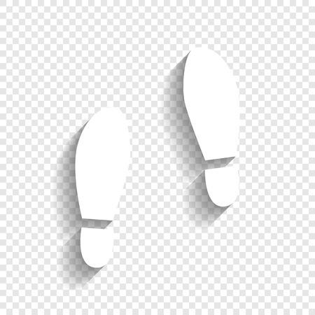 shoeprint: Imprint soles shoes sign.