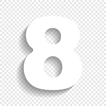 number 8 template