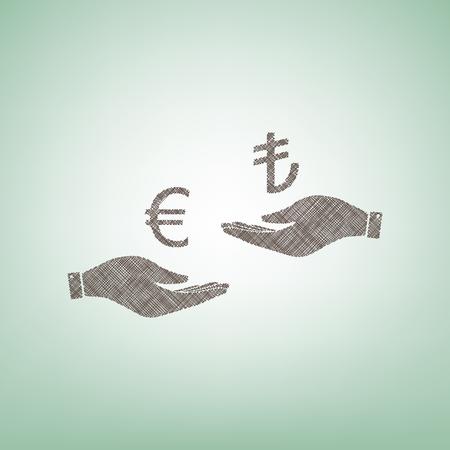 Valutawissel van hand tot hand