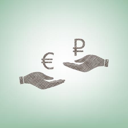 Geldwechsel von Hand zu Hand