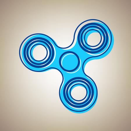 Fidget spinner sign
