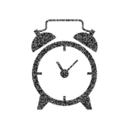 Alarm clock sign.