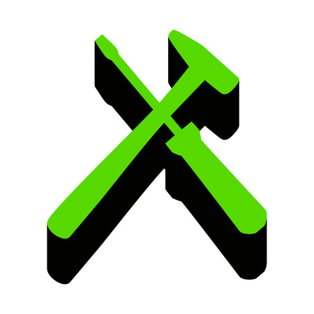 Tools sign illustration.