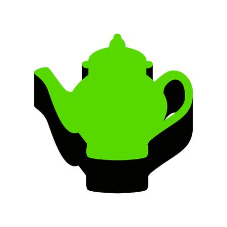 Tea maker sign.