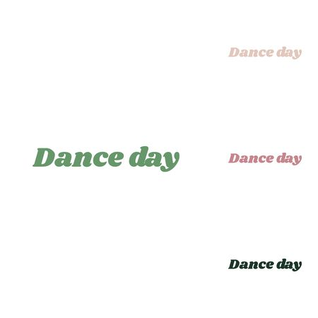 International Dance Day. Russian green icon with small jungle green, puce and desert sand ones on white background. 向量圖像