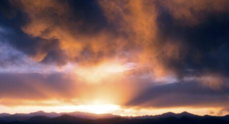co: Sunset, Denver, CO
