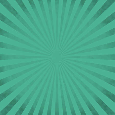 Teal sunburst background Vector