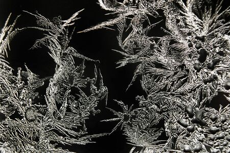 bedeck: Abstract frost patterns Stock Photo