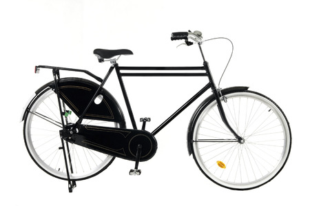 27827233: Retro styled image of a nineteenth century bicycle isolated on a white background
