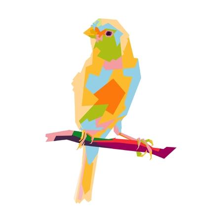 Canary pop art