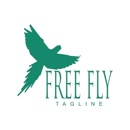 Macaw free fly Çizim