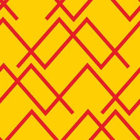 Seamless horizontal lines pattern in two colors. Good for textile, package or other decoration. Illustration
