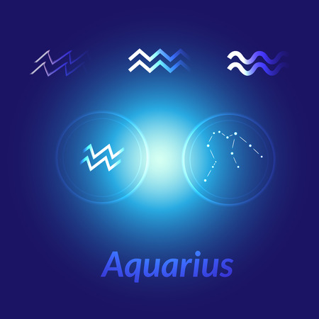 The Water Bearer Aquarius Sing Star Constellation Element Age