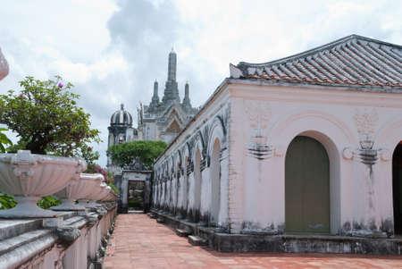 temple facade at palace photo