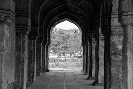Qutub Shahi Tombs Pillar