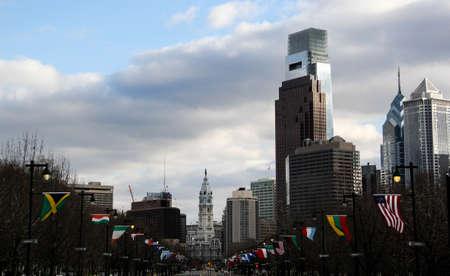 william penn: Downtown Philadelphia Editorial