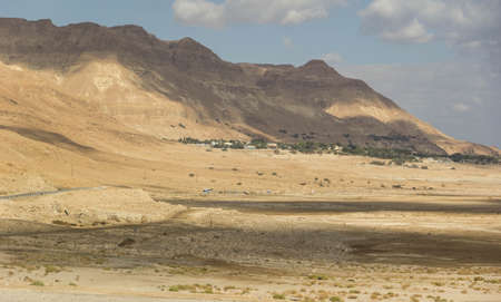 Deserts and valleys in the middle east