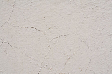 scabrous: The old painted shabby wall texture with cracks