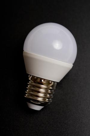 devise: Diode bulb closeup simple composition