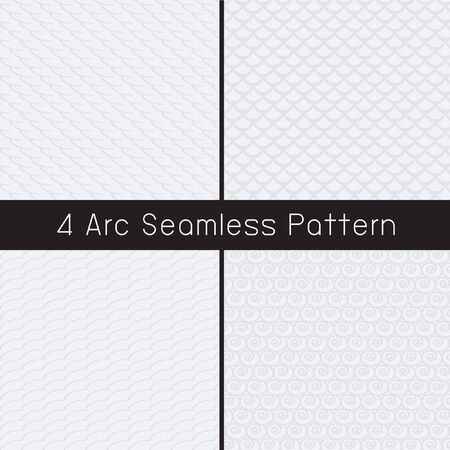 arch: arch seamless pattern Illustration