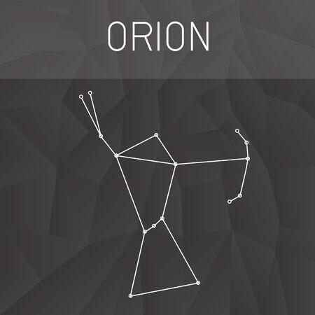 constelacion: Constelación de Orión Vectores