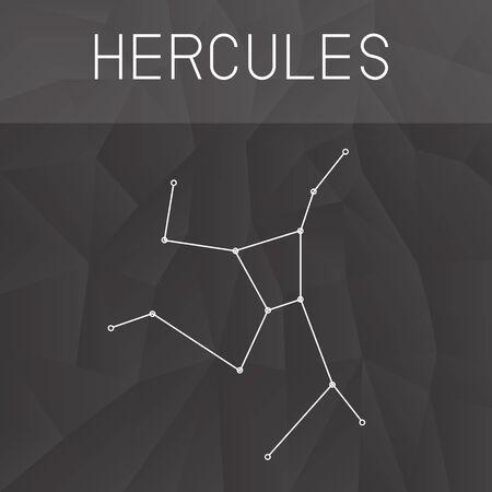 hercules: Hercules Constellation Illustration