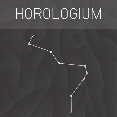 constelacion: horologium Constelaci�n Vectores