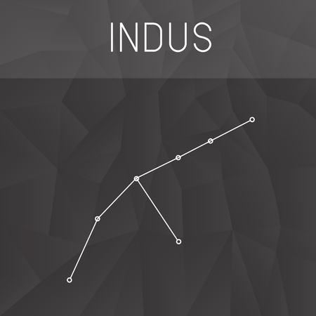 constelacion: constelaci�n Indus