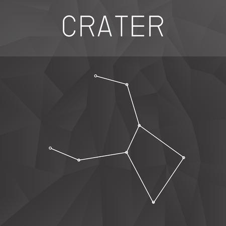 crater: Crater Constellation Illustration