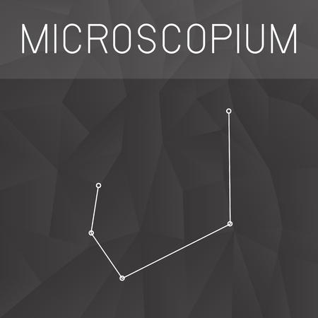 constelacion: constelación Microscopium