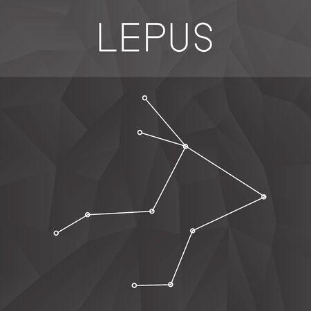 constelacion: constelaci�n de Lepus
