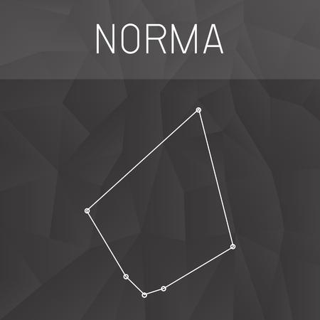 constelacion: constelaci�n de Norma Vectores