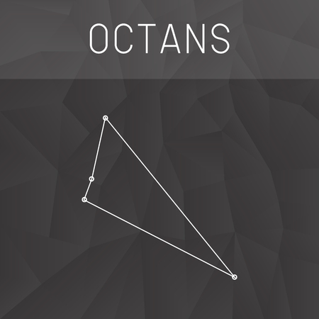 constelacion: constelaci�n Octans