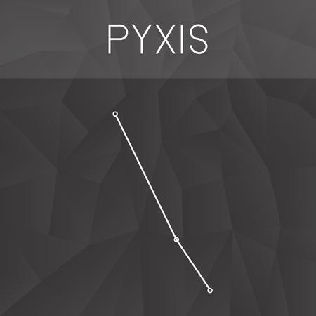 constelacion: constelación de Pyxis