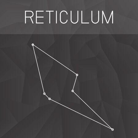 constelacion: constelaci�n ret�culo Vectores
