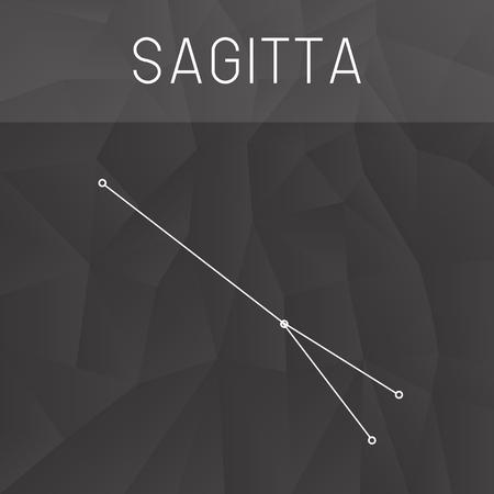 constelacion: constelaci�n Sagitta Vectores