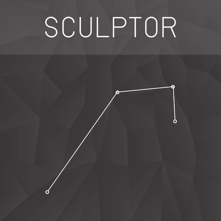 constelacion: constelaci�n escultor