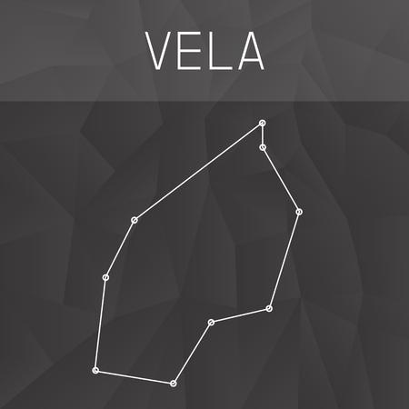 constelacion: constelación de Vela